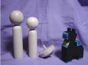 【岩手・盛岡】岩手の郷土玩具!ちゃぐちゃぐ馬っこ絵付けの画像