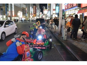 ★ Recommended ★ 【Guide with Odaiba / Tokyo tour sightseeing】 Image of a hottest cart experience with a cosplay 3 hour course