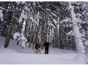 【北海道・ニセコ】貸切スノーハイクツアー<ペア〜小グループ(2〜4名)プラン>写真データ付きの画像