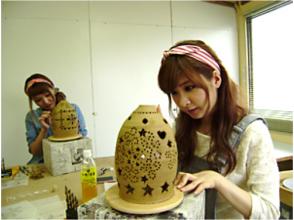【佐賀・武雄】みんなで作れる!「ランプシェード彫り体験」団体向け!