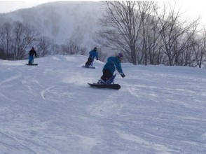 [Nagano] challenge to the new snow sports! Snow bike school [round Kogen ski resort of hot water]
