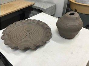 【大阪・茨木】粘土を自由にこねて 手びねり体験コースの画像