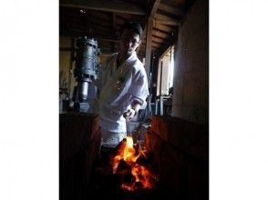 【岐阜・羽島市】刀匠が鍛造の技を教えます!鍛冶場で侍ナイフ作り(1日体験コース)の画像