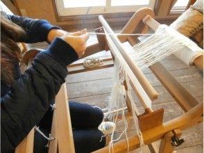 【北海道・空知】機織りコースター作り