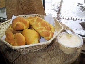 【北海道・空知】ふらの野菜パン&バター手作り体験の画像