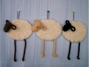 【Hokkaido · Furano】 Wool craft wall covering making 1 hour course