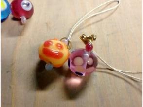 [Okayama Akaiwa] original accessories were dissolved glass! Image of dragonfly ball making experience