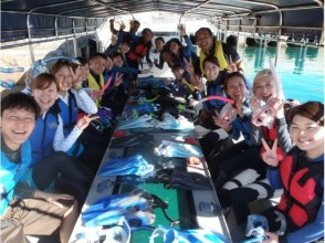 [Okinawa Irabu] Blue Cave & the mystery of the image of the cave Glass boat excursion