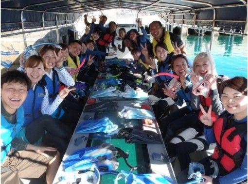 【沖縄・伊良部島】青の洞窟&神秘の洞窟グラスボート遊覧