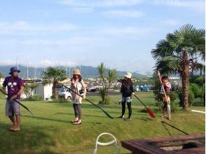 【滋賀・琵琶湖】レンタル込み!琵琶湖で水上散歩SUP体験(初心者コース)の画像
