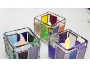 【岡山・倉敷】自由に可愛くデザイン♪グラスアート ガラスキューブ体験の画像