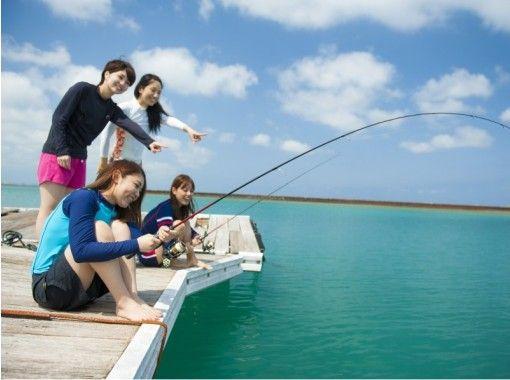 【沖縄・北谷】のんびりイカダ釣り【2時間・フィッシング】