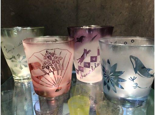 【浅草橋1分】砂で削るガラス工芸~グラスに好きな絵や文字を彫刻できる!すぐに持ち帰り可・駅近!の紹介画像