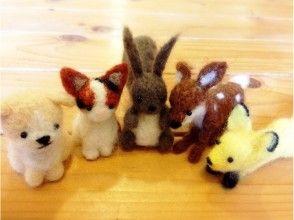[北海道空知]羊毛吉祥物製作經驗2小時的課程北海道動物形象製作