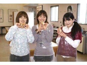 """[三重县伊势市]让我们体验伊势的传统风味!欢迎""""手工制作kababoko体验""""团体和儿童! Shimotsuke工厂商店"""