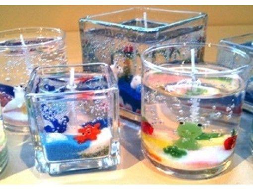 【長野・軽井沢】ガラスの器のオリジナルキャンドルを作ろう「キャンドル作り体験」手ぶらでOK!