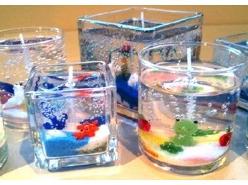 【長野・軽井沢】ガラスの器のオリジナルキャンドルを作ろう「キャンドル作り体験」手ぶらでOK!の紹介画像
