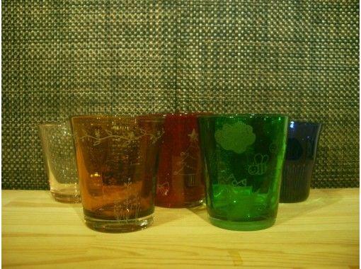 【埼玉・川越】好きな絵をガラスに彫刻!世界に1つのグラスを作ろう★