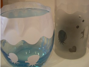 [Saitama · Kawagoe] From 3 years old OK! Glassware to your favorite design ★ Image of sandblasting experience
