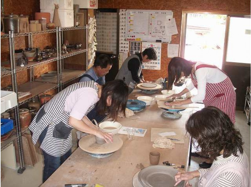 [Fukuoka/ Yukuhashi City] Beginners welcome! Pottery experience classroom (one day course) in a kiln specializing in weaving soil and flame
