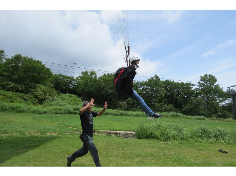 [Tochigi /Nasu Kogen] Beginners are welcome! Paragliding experience (half-day course) Corona security measures being implemented
