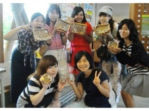 [Kyoto FuKyo Tango City and craft experience] sea of gift ☆ driftwood and shells of frame-making image