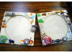 【京都府京丹後市・クラフト体験】自然素材で彩った可愛いマリンコースターを作ろう!の画像
