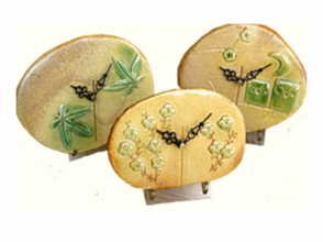 【静岡県・陶板時計作り】初めての方でも楽しみながら制作!陶板時計作り体験の画像