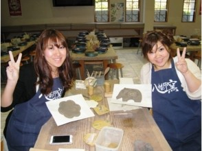[Shizuoka/Izukogen] Produce fun even for the first time! Popular with Female! Ceramic plate Clock making experience