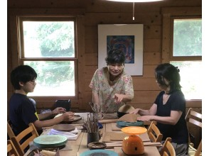 """[Izu City, Shizuoka Prefecture] There is a """"hand-carrying pottery experience""""With a shuttle bus using 1kg of clay freely in the nature of Nakaizu"""