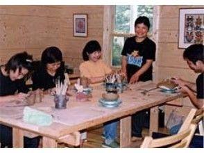 【静岡県・手びねり体験】中伊豆の自然の中で、手びねり陶芸体験の画像