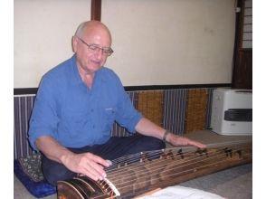 【京都・伝統文化体験】京町家でお琴のプライベートレッスン☆和の優美な音色を奏でよう!の画像
