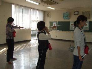 【埼玉県・吹き矢体験】作って吹いてみよう!吹き矢体験の画像