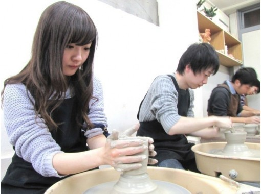 [Tokyo-Akabanebashi] mood potter. Recommended for beginners! Electric pottery pottery experienceの紹介画像