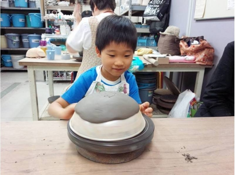 [Tokyo, pottery experience] trying to idea to form! Introduction image of half a day pottery experience