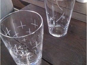 【鹿児島・吹きガラス体験】吹きグラス&カット体験でオリジナルグラスを作ろう!の画像