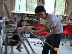 【鹿児島・吹きガラス体験】グラス作りの基本!短時間で吹きガラス体験の画像