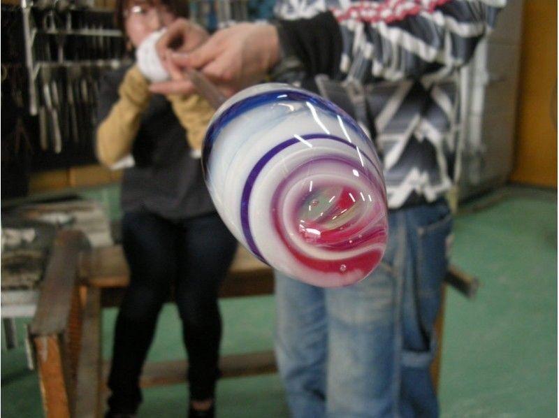 【東京・大田区・駅4分】オリジナルグラスを作ろう!吹きガラス体験の紹介画像