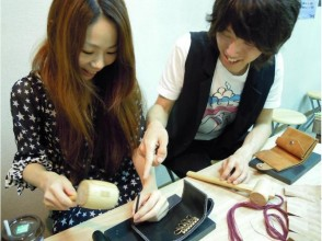 【2 minutes walk from Hyogo · Amagasaki station】 Recommended for gifts! Image of leather craft experience (1 day experience course)