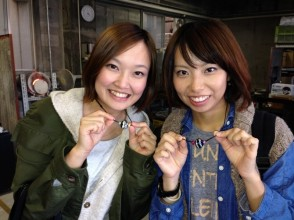 【Aichi · Tonboshi Making Experience】 Glasswork · Cute Tonbonball with images of accessory making experience