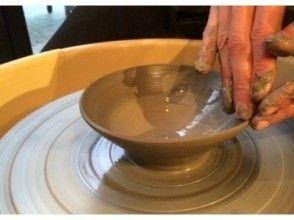 【京都府・ろくろ陶芸体験】京都旅行の思い出が詰まったオンリーワンの京焼のお茶碗づくりの画像