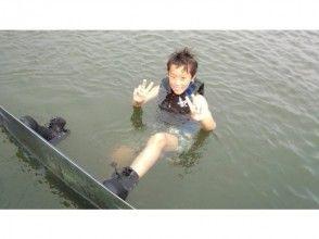 【滋賀・琵琶湖・ウェイクボード】初心者向け15分×1セット♪とりあえずやってみよう!の画像
