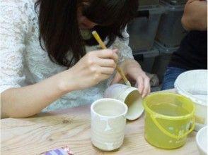 【愛知県・陶芸】自分の世界を絵で陶器へ!90分で絵付けプランの画像