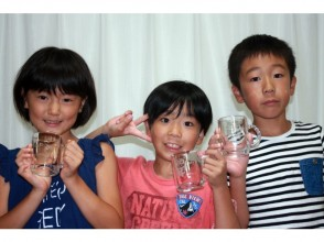 Glad to [Kagawa Prefecture sandblasting] children! Mug making image