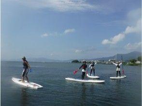 【滋賀・琵琶湖】レンタル込み!琵琶湖-Ogoto Base-で水上散歩SUP上達(経験者コース)
