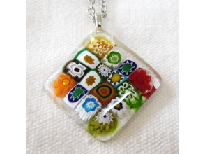 """[Tottori, Tottori City]Available for block bookings pendant making in using the glasswork experience - an electric furnace with capacity of workshop """"fusing"""""""