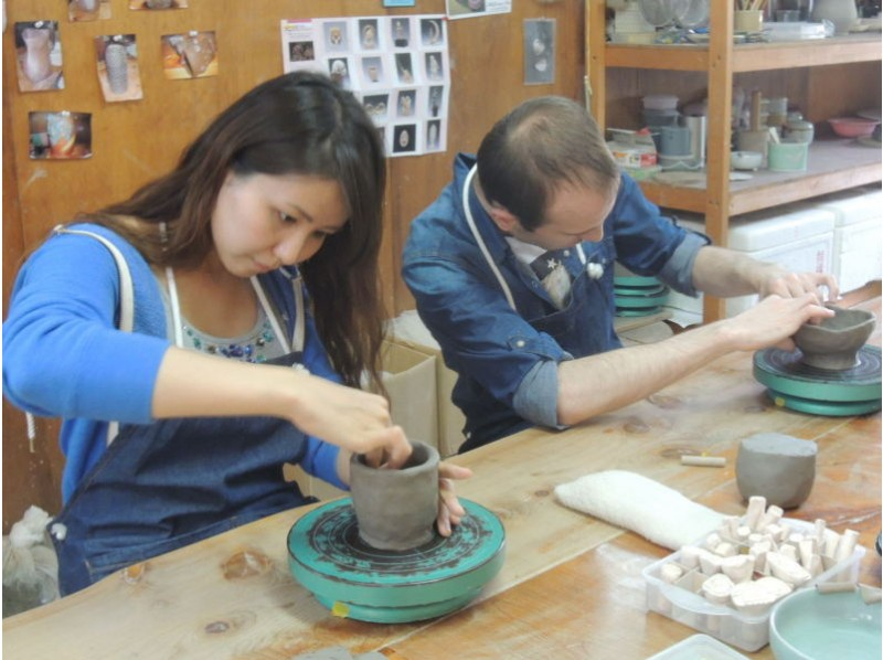 [Mie/Toba City] Pottery Experience-A nice plan to make up to 4 works such as teacups and teacups using plenty of clayの紹介画像