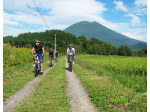 Cycle ride exhilaratingly with the guide of the city of Niseko!