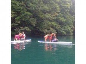 [青木長野]靜心湖,在湖青木SUP體驗狗跟著