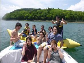 【山梨・山中湖】人気のバナナボート&SUPセットプラン!